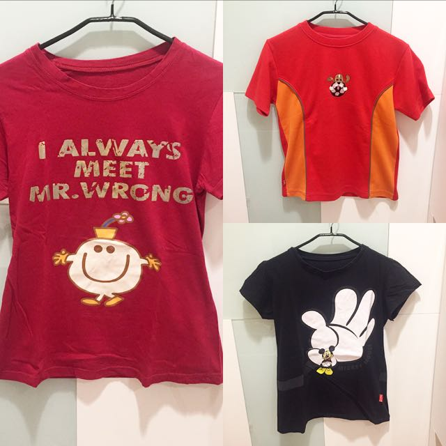 3 T-shirt For Only 45000 (kaos)
