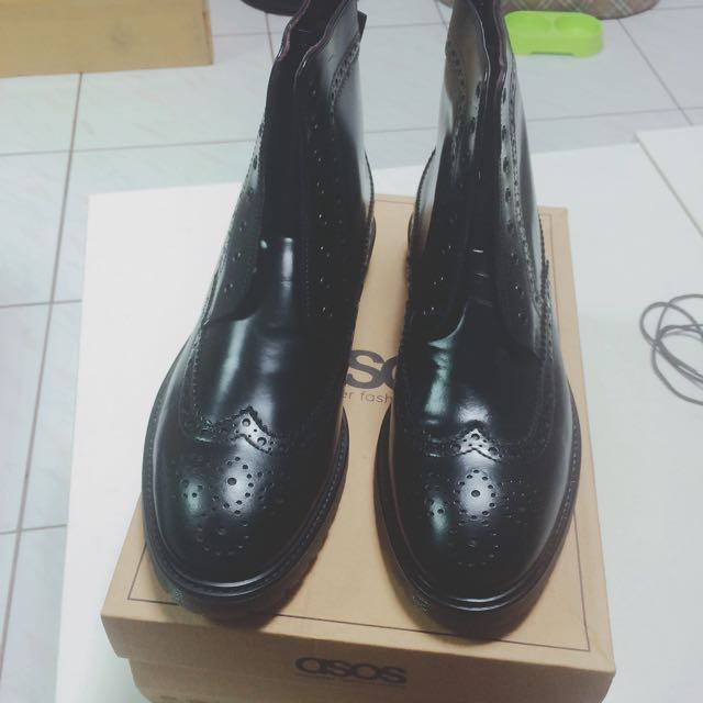 (降價)漆皮牛津鞋