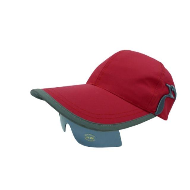 山頂鳥-太陽眼鏡帽-紅色