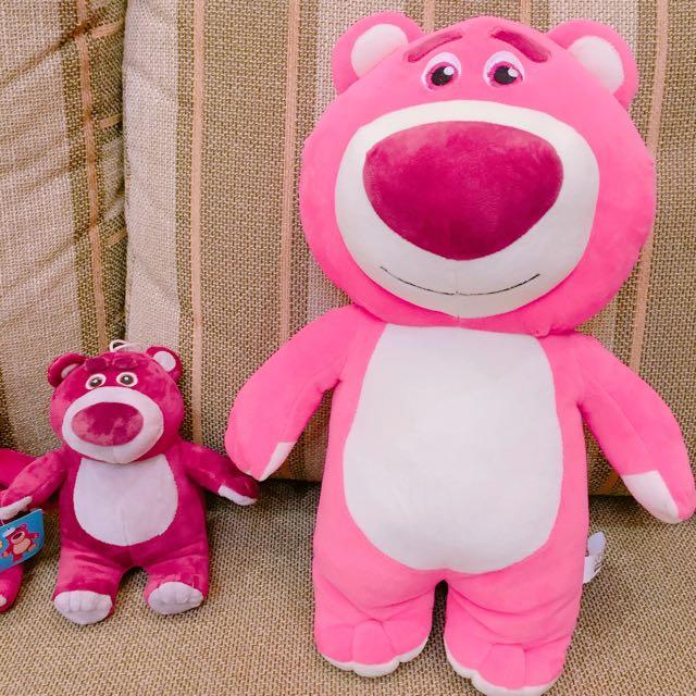 玩具總動員熊抱哥草莓熊