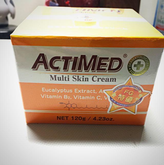 日本 艾迪美ACTIMED修護乳霜(120g)