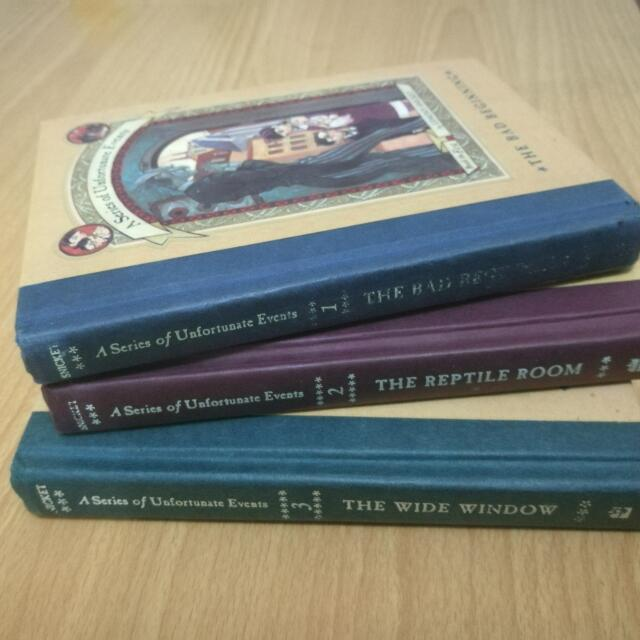 [RESERVED] A Series of Unfortunate Events (Books 1-3)