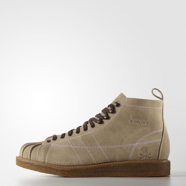 sports shoes 65817 42b01 Adidas X Neighborhood NH Shelltoe Boots, Men's Fashion, Footwear on  Carousell