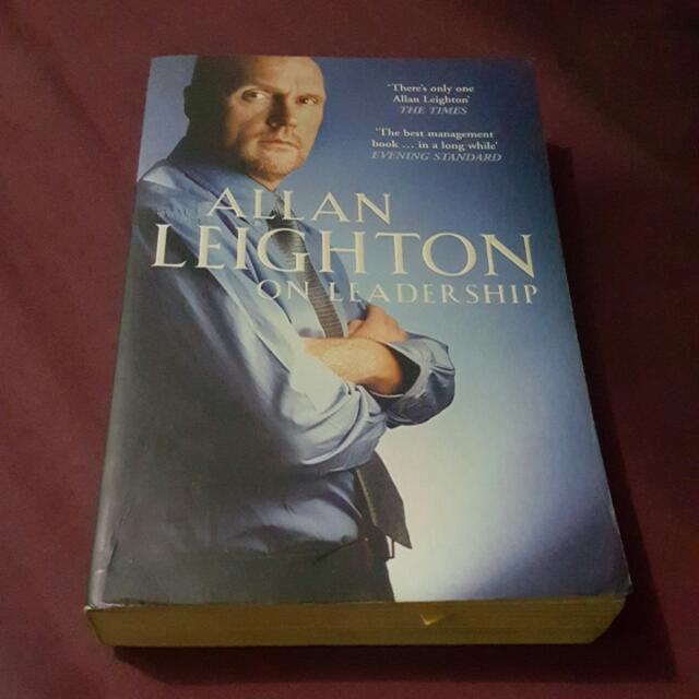 SALE!!Allan Leighton On Leadership