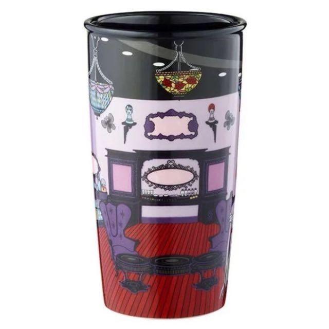 星巴客*Anna Sui聯名商品/雙層陶瓷杯/全新