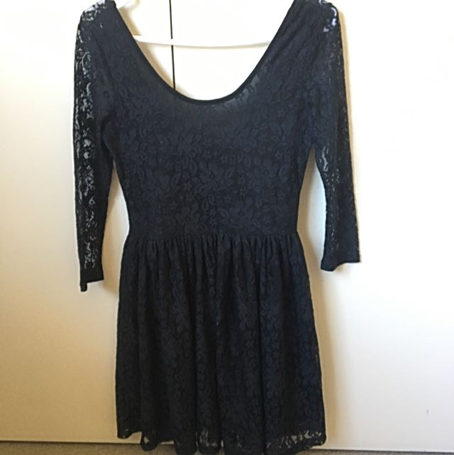 Anthology Lace Black Dress