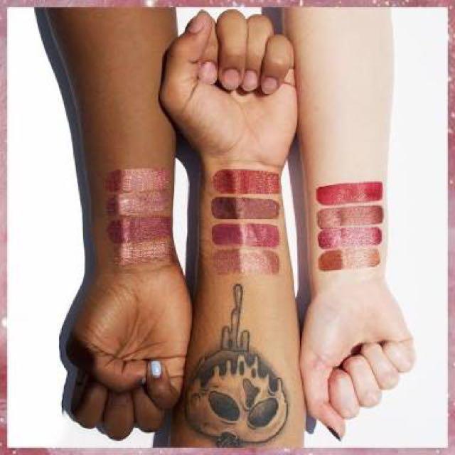 AUTHENTIC COLOURPOP Metallic Liquid Lipstick