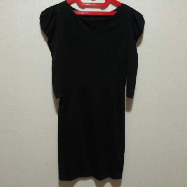 Authentic Original Topshop Dress In Black