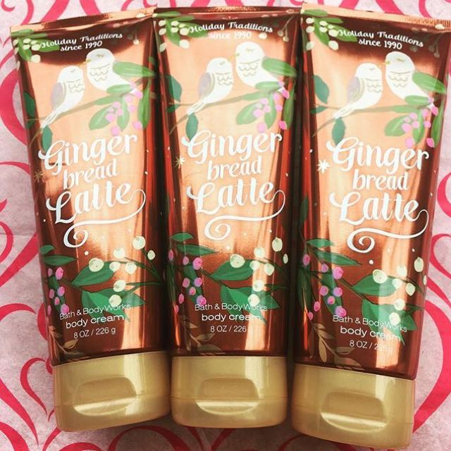 BBW GINGER BREAD LATTE CREAM