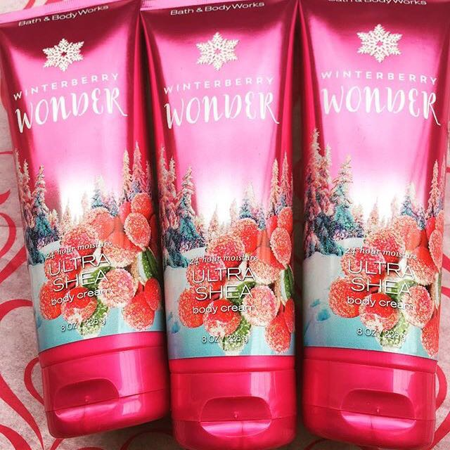 BBW WINTERBERRY WONDER CREAM