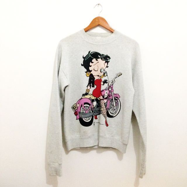 Betty Boop Oversized Sweater