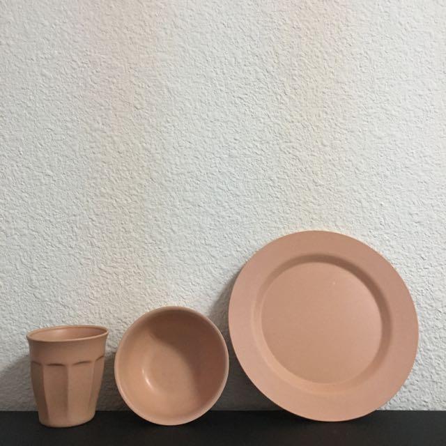 BIODISH X ANDSOME 컵 보울 디쉬 세트