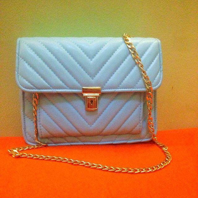 Blue Chain Bag Btm