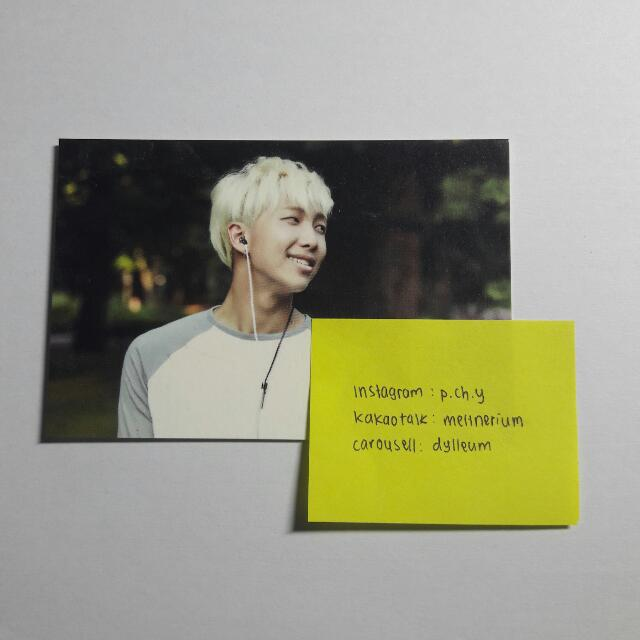BTS 2nd Muster Zip Code 17520 Photocard (Rap Monster) Number 1