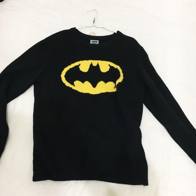 Caco蝙蝠俠針織毛衣