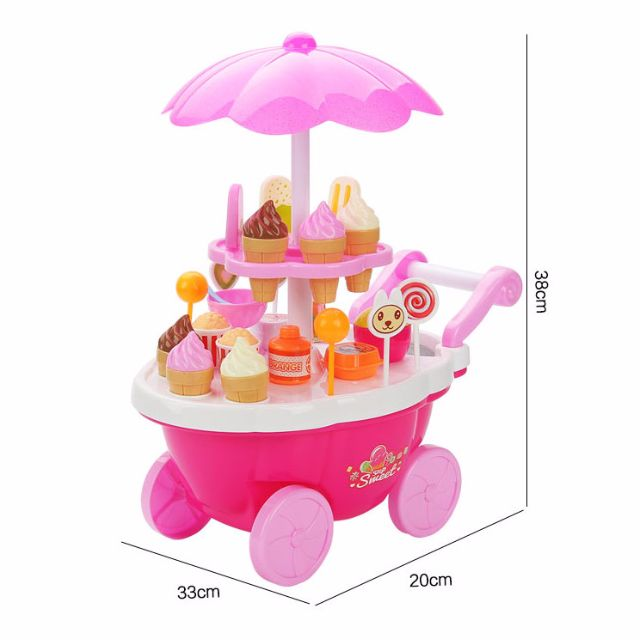 Candy Cart 66826/ 66825 - kids children pretend toy market selling toy ice cream #CarouPay