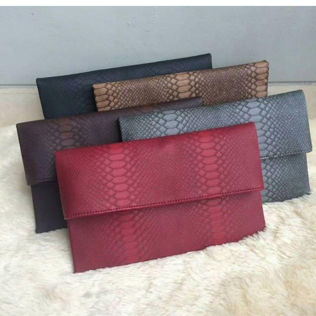 Clutch Bag Leather
