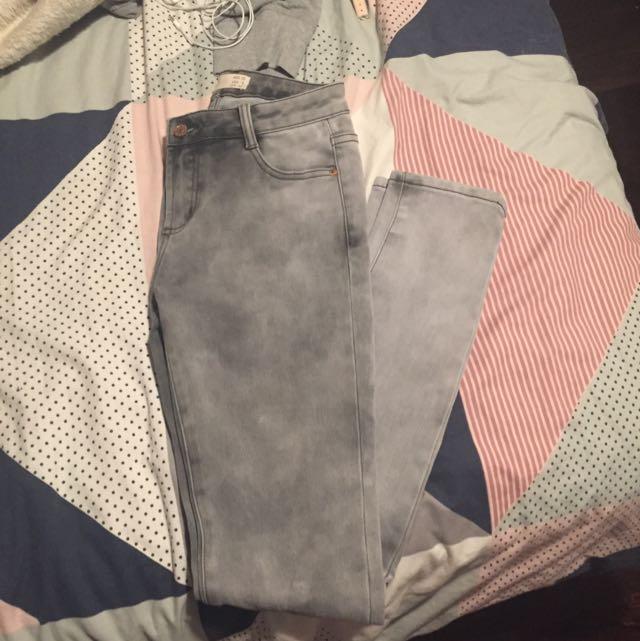Cotton On Skinny Grey Jeans
