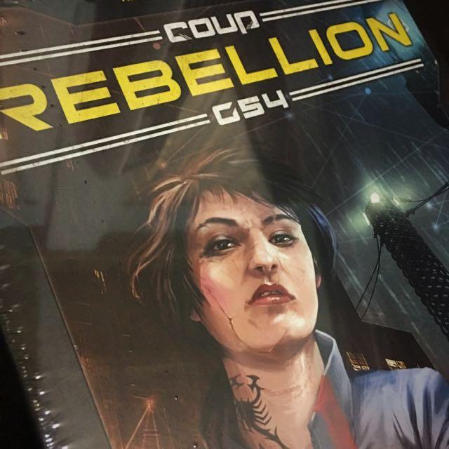 Coup Rebellion G54 - Kickstarter Edition