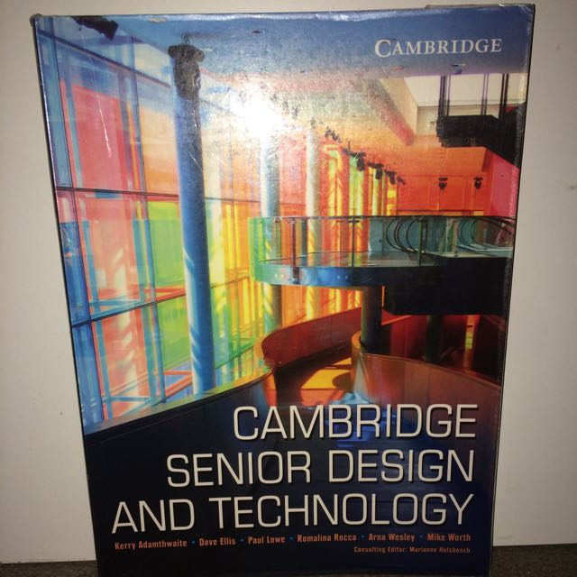 Design And technology textbook