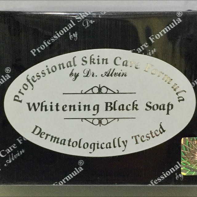 Dr. Alvin's WHITENING BLACK SOAP