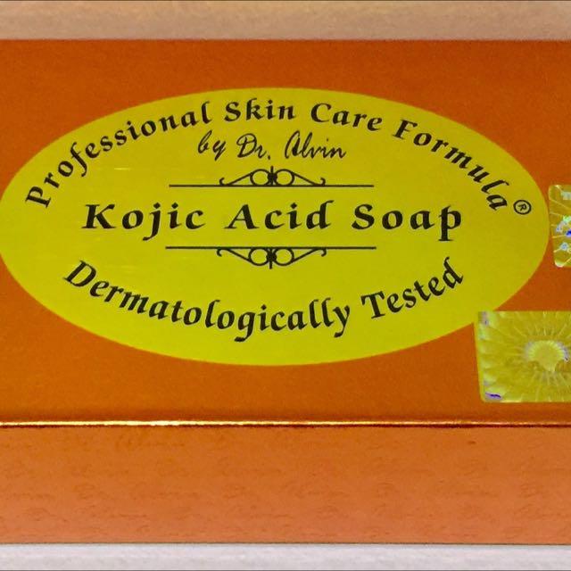 Dr. Alvin's Kojic acid soap