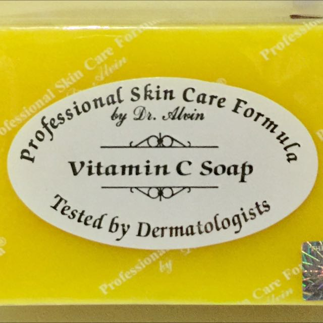 Dr. Alvin's VITAMIN C Soap