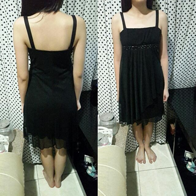 dress black (hitam)