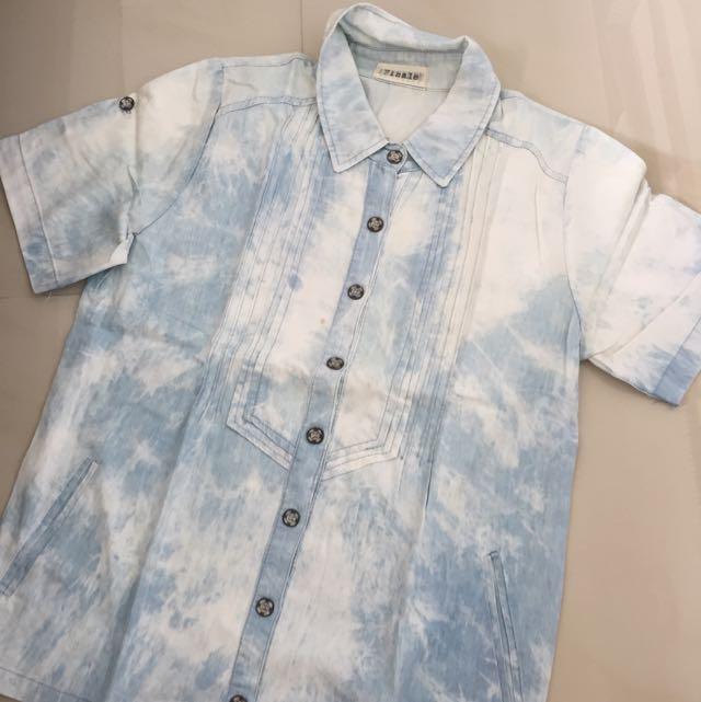 Dye Shirt Denim