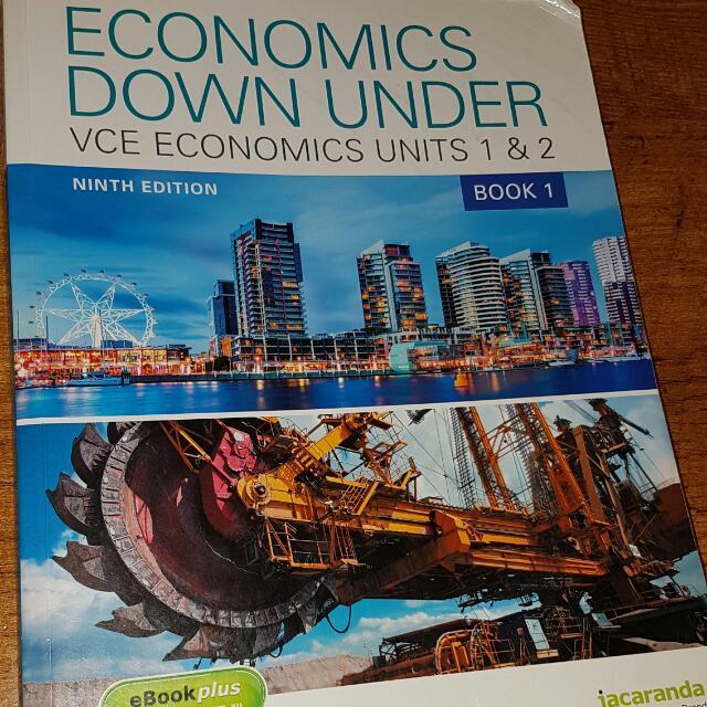 Economics Down Under Units 1&2