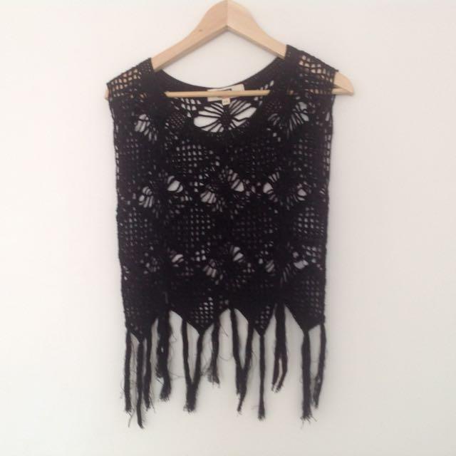 Elwood Crochet Tank Top Size XS