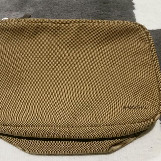 Fossil Mens Toiletry Travel Bag