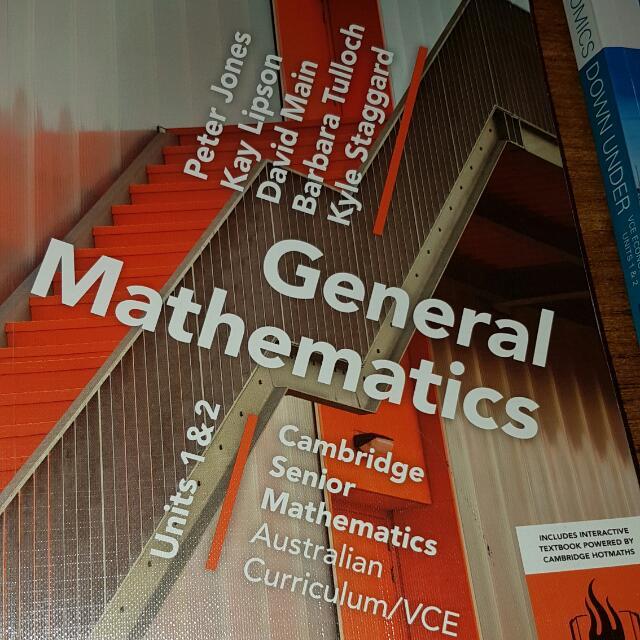 General Mathematics Units 1&2