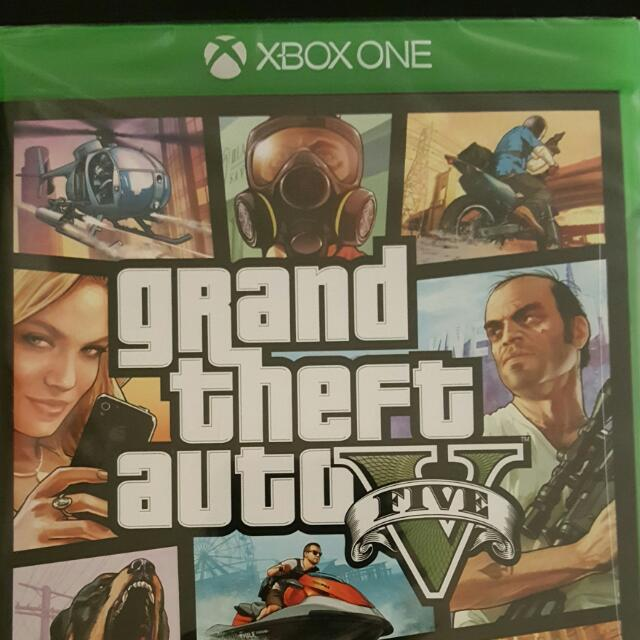 GTA V Xbox1 Sealed