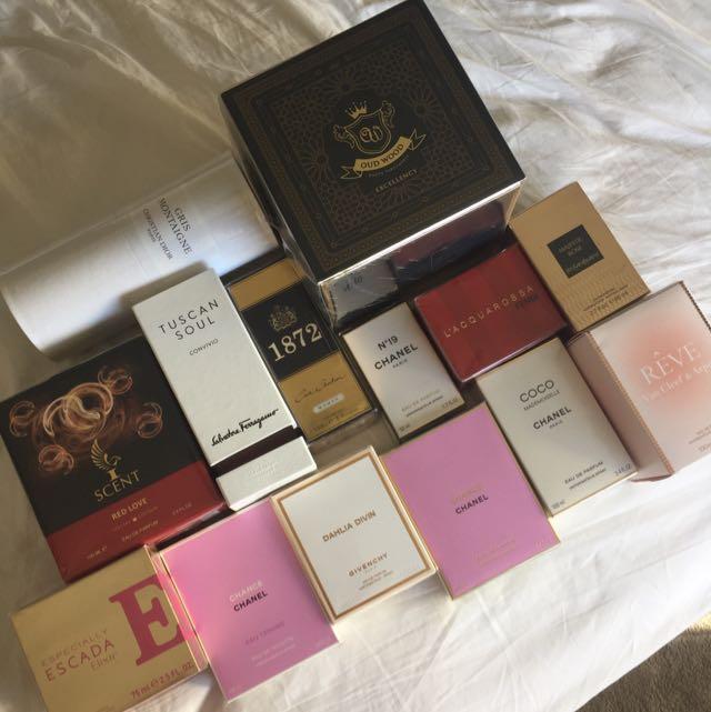 Heaps Of Perfumes