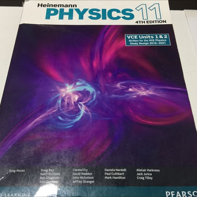 Heinemann Physics 11 - 4th Edition
