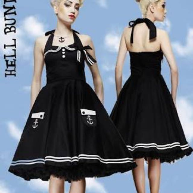 Hell bunny sailor Pinup Rockabilly Dress