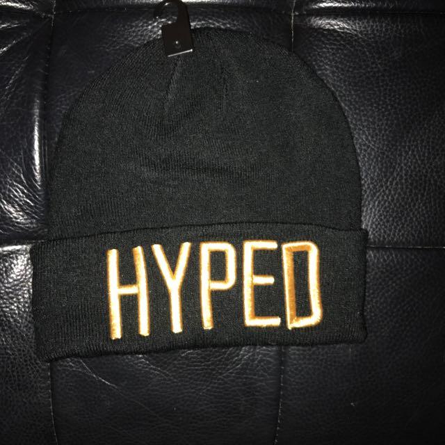 H&M毛帽 hype Beanie