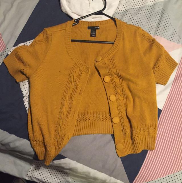 H&M Short Sleeved Cardigan