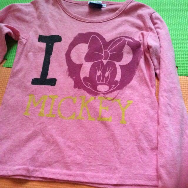I Love Mickey Long Sleeves