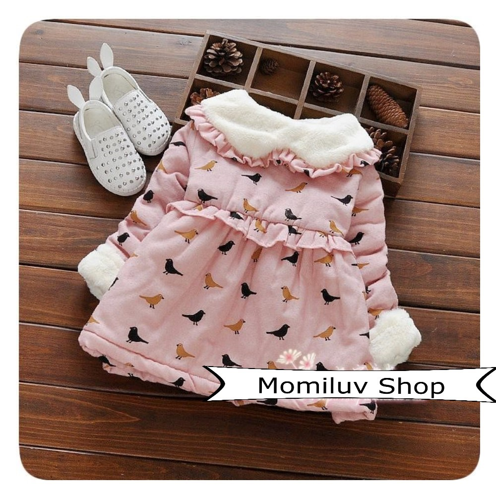 c9f420a3e3798 PO Korean Baby Girl Winter Dress / Jacket, Babies & Kids, Babies Apparel on  Carousell