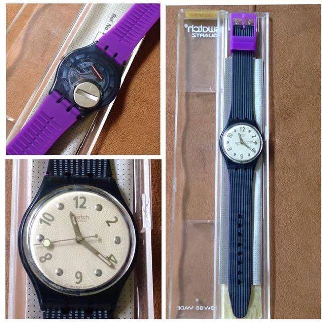 Jam Tangan Swatch Grauer-GN146