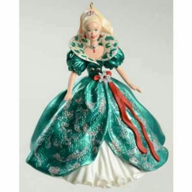 Keepsake Barbie Ornaments