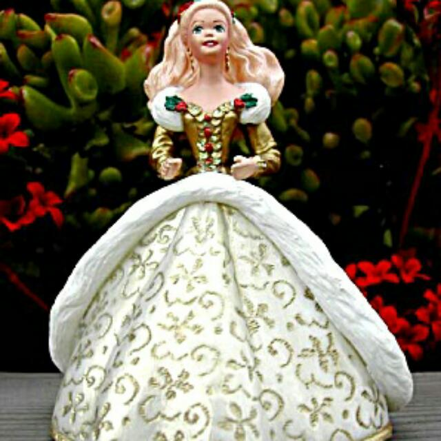 Keepsake Barbie Ornaments