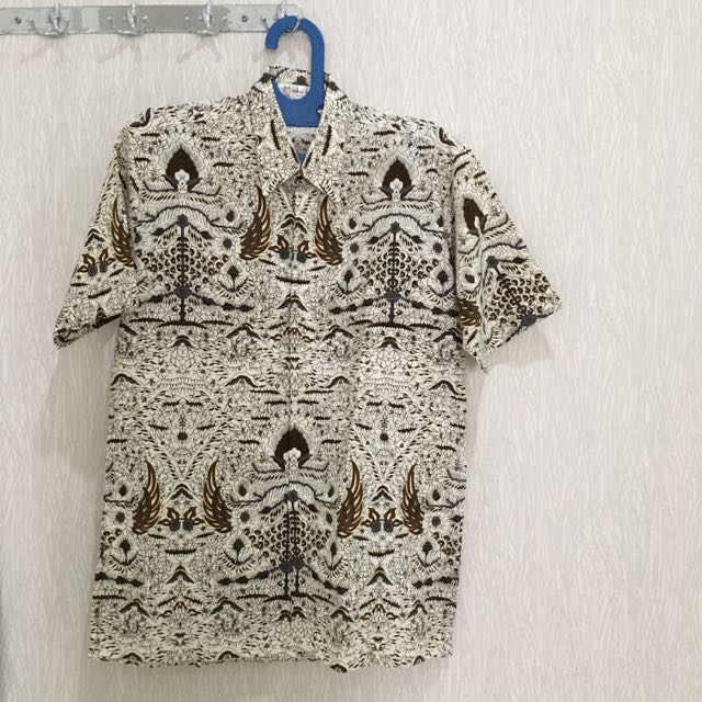Kemeja Batik Short