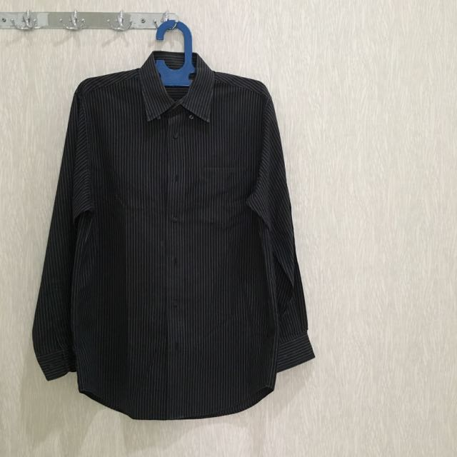 Kemeja Long Sleeves Giordano