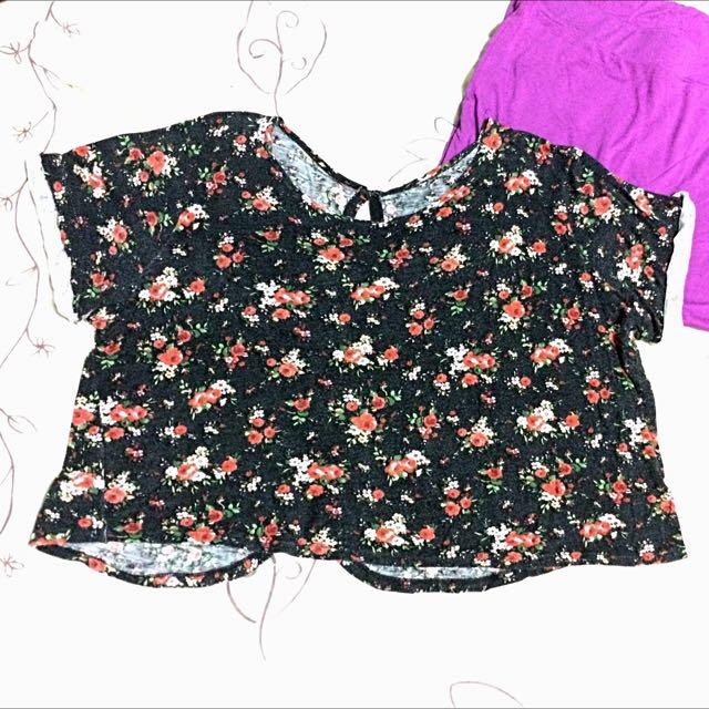 Loose Floral Top