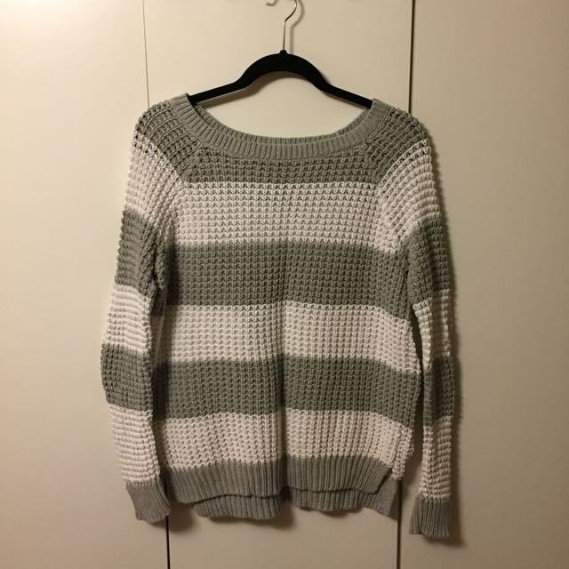 Loose Knit American Eagle Sweater