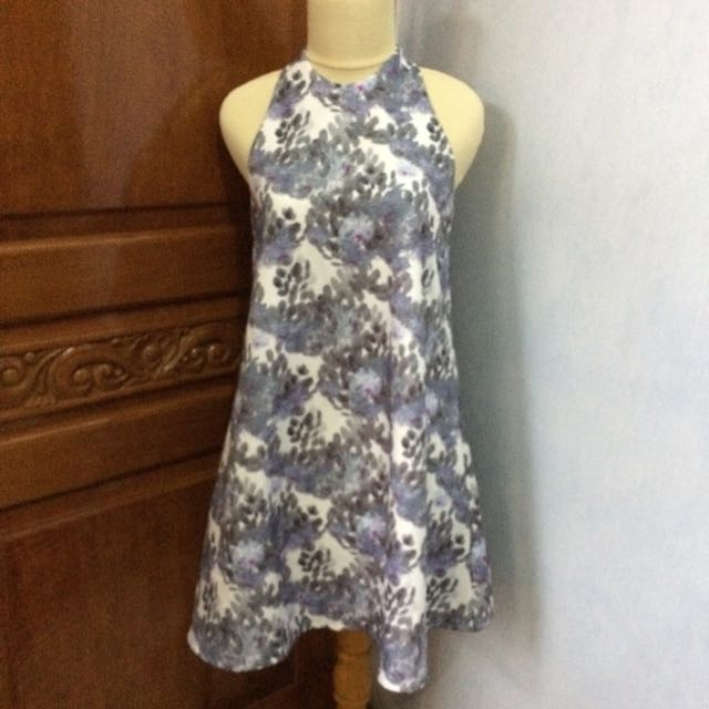 Love Bonito Purple Flower Dress