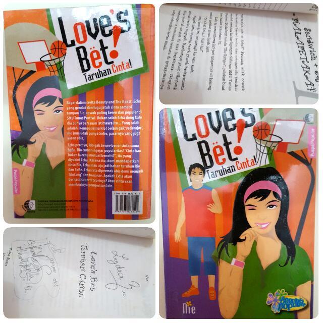 Love's Bet - Taruhan Cinta by Nie